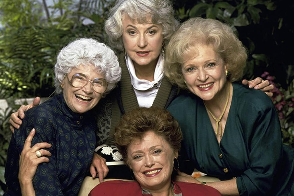 Golden Girls - The ladies from the popular US sitcom