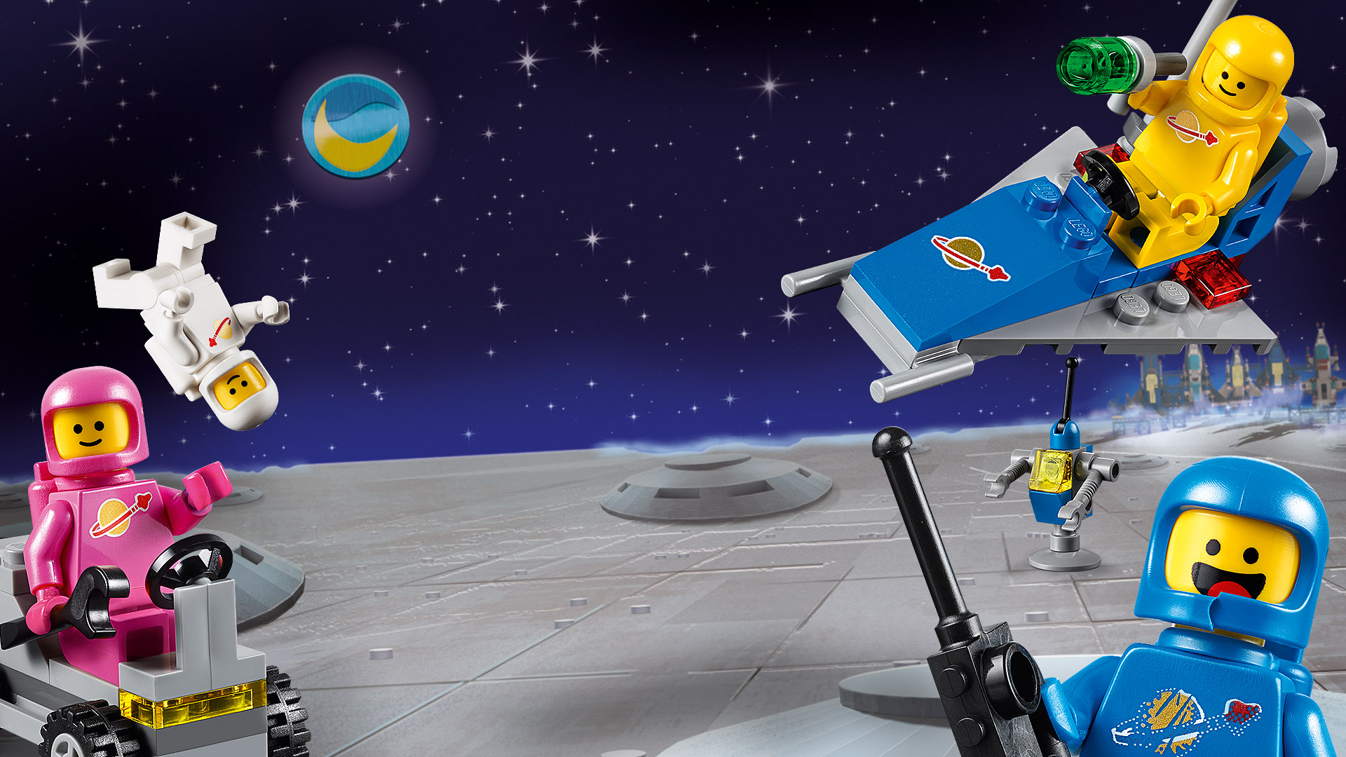 Lego Space - Benny in Space