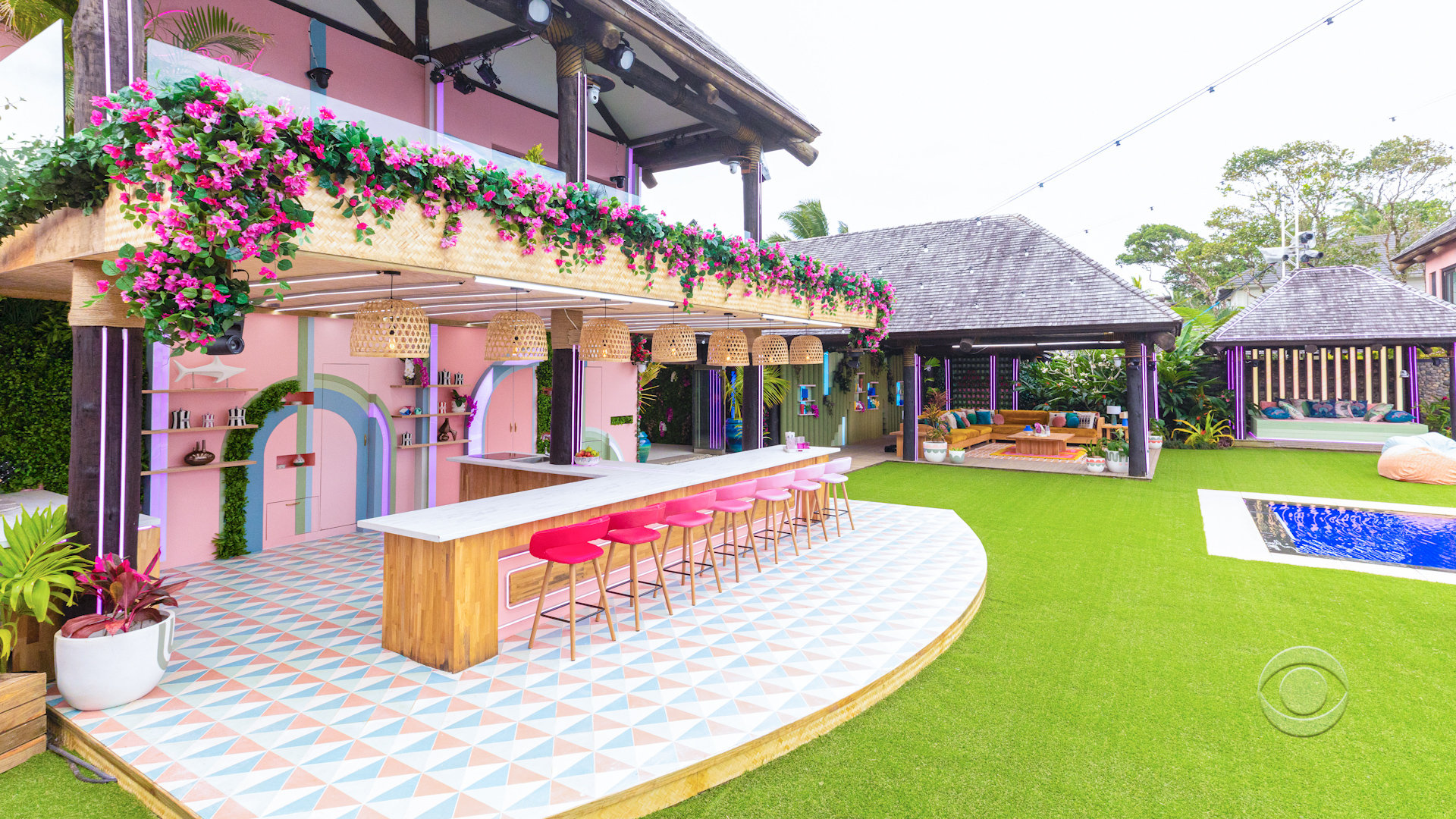 Love Island USA 3 - Outdoor area daytime