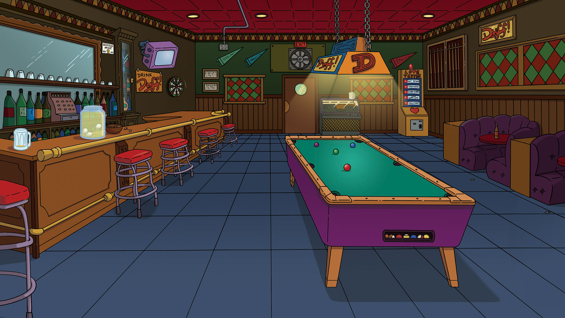 Simpsons 2 - Moes Tavern