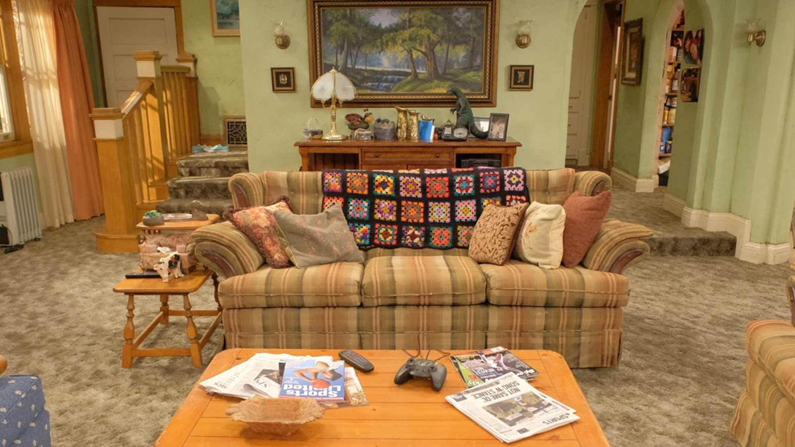 The Conners - Couch and main living room