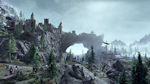 Bethesda video games - Skyrim video game landscape