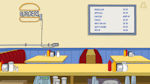 Bobs Burgers 2 - Fast Food Restaurant with Menu