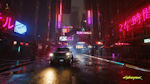 Cyberpunk 2077 2 - Sci fi city at night from the upcoming computer game
