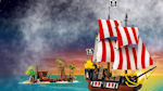 Lego Pirate - Pirate and deserted island