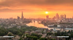 London - Sunset - London sunset view