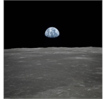 NASA - View of the Earth from the moon