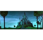 Sleeping beauty - Castle from the 1959 Disney classic